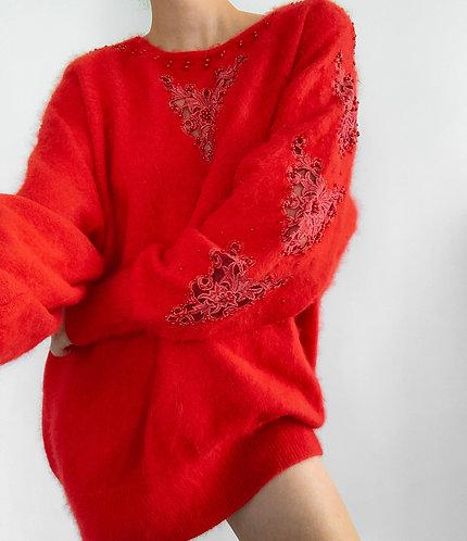 Red angora
