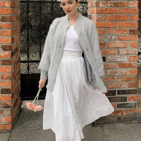 Vintage white romantic skirt
