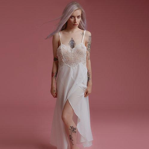 Retro white nightdress