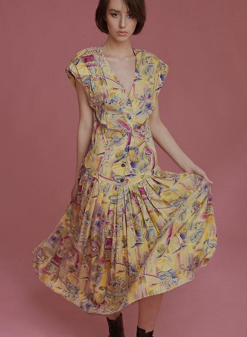 Sukienka z kotem