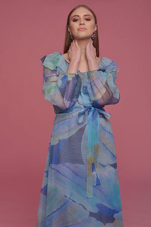 Sukienka fale