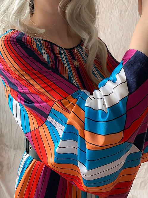 Geometrical vintage dress