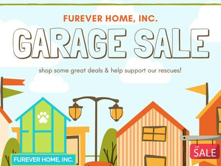 FurEver Home, Inc. Garage Sale