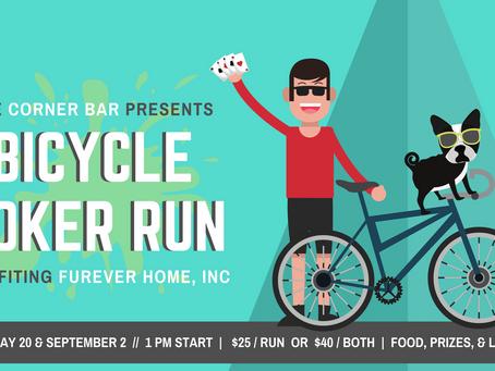 Corner Bar Bicycle Poker Run