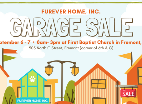 FurEver Home, Inc. Garage Sale