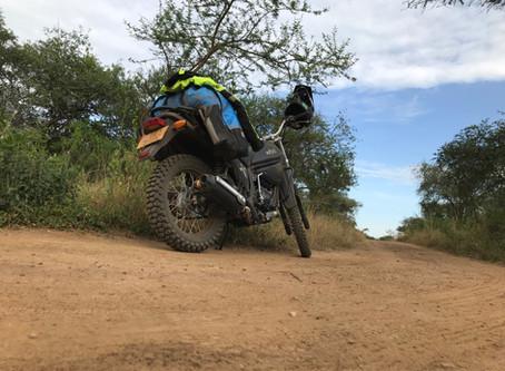 Back on a motorbike!