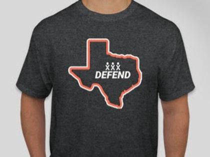 Defend Texas Shirt | Love People Not Pixels