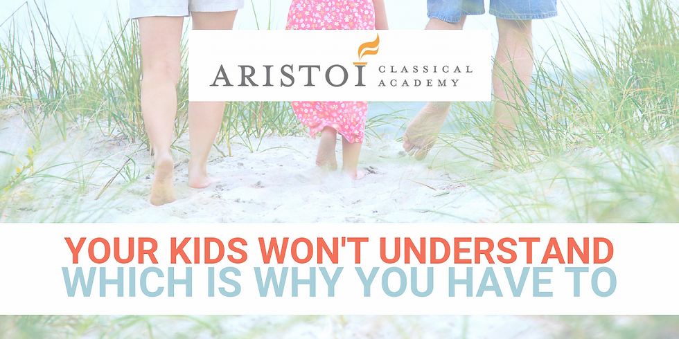 """Aristoi Classical Academy: """"How To Talk to Your Kids About Porn"""" Parenting Series Pt. 2"""