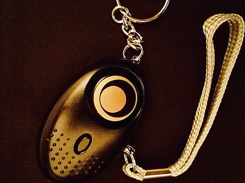 KHR Alarm Keychain - 140dB w/LED Flashlight