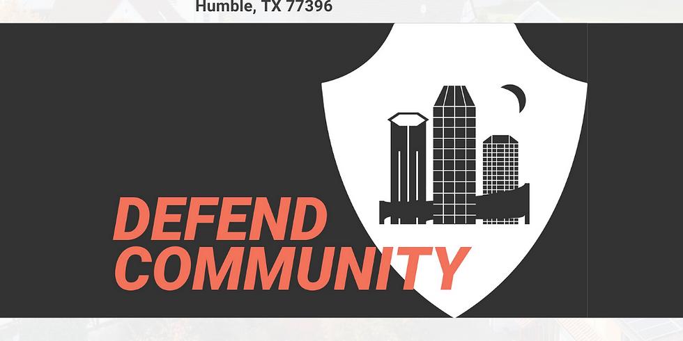 Defend Community | Grace Church Humble