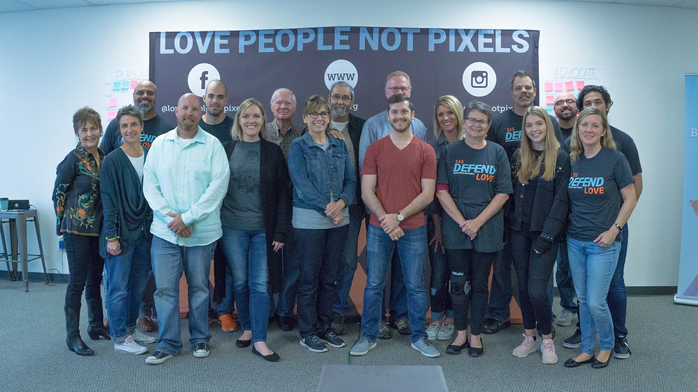 Defenders | Love People Not Pixels