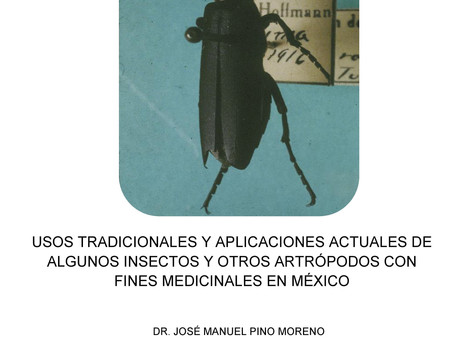 Lançamento de livro!! Usos tradicionales y aplicaciones actuales de algunos insectos y otros artrópo