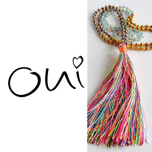 Multi Tassel Necklace (W)