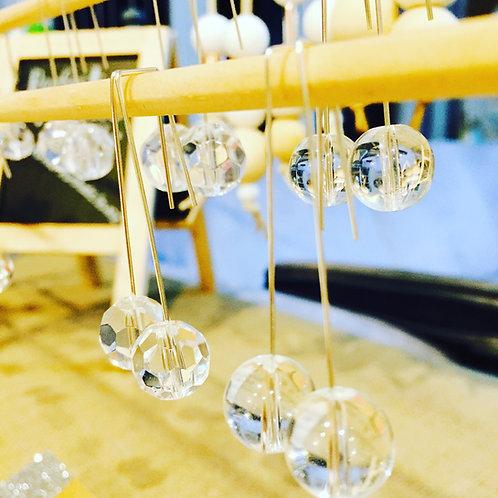 Bevelled Glas ball drop