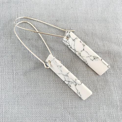 Marbled divine Drop Earrings