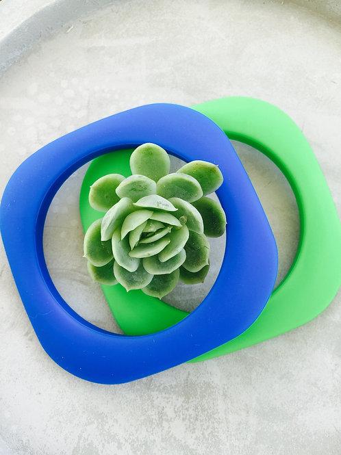 Morocco blue & green bangles (wholesale)