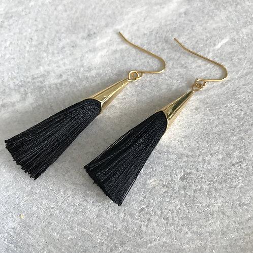 Botanical Tassel Earrings