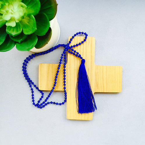 True Blue Tassel