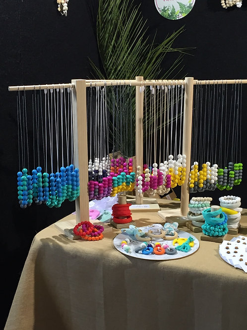 12 x  Silicone Necklaces and matching Bracelets