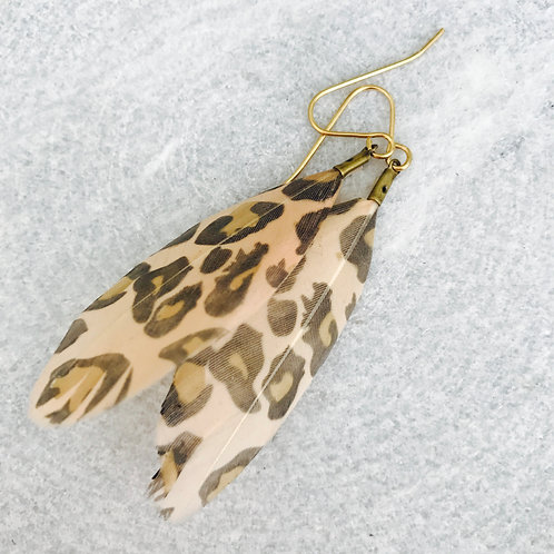 Wild Thing Feather Earrings