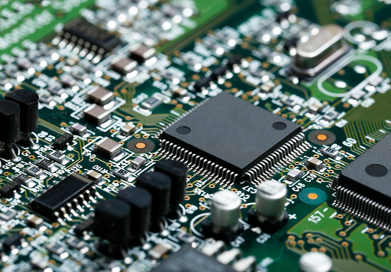 closeup-of-electronic-circuit-board-with