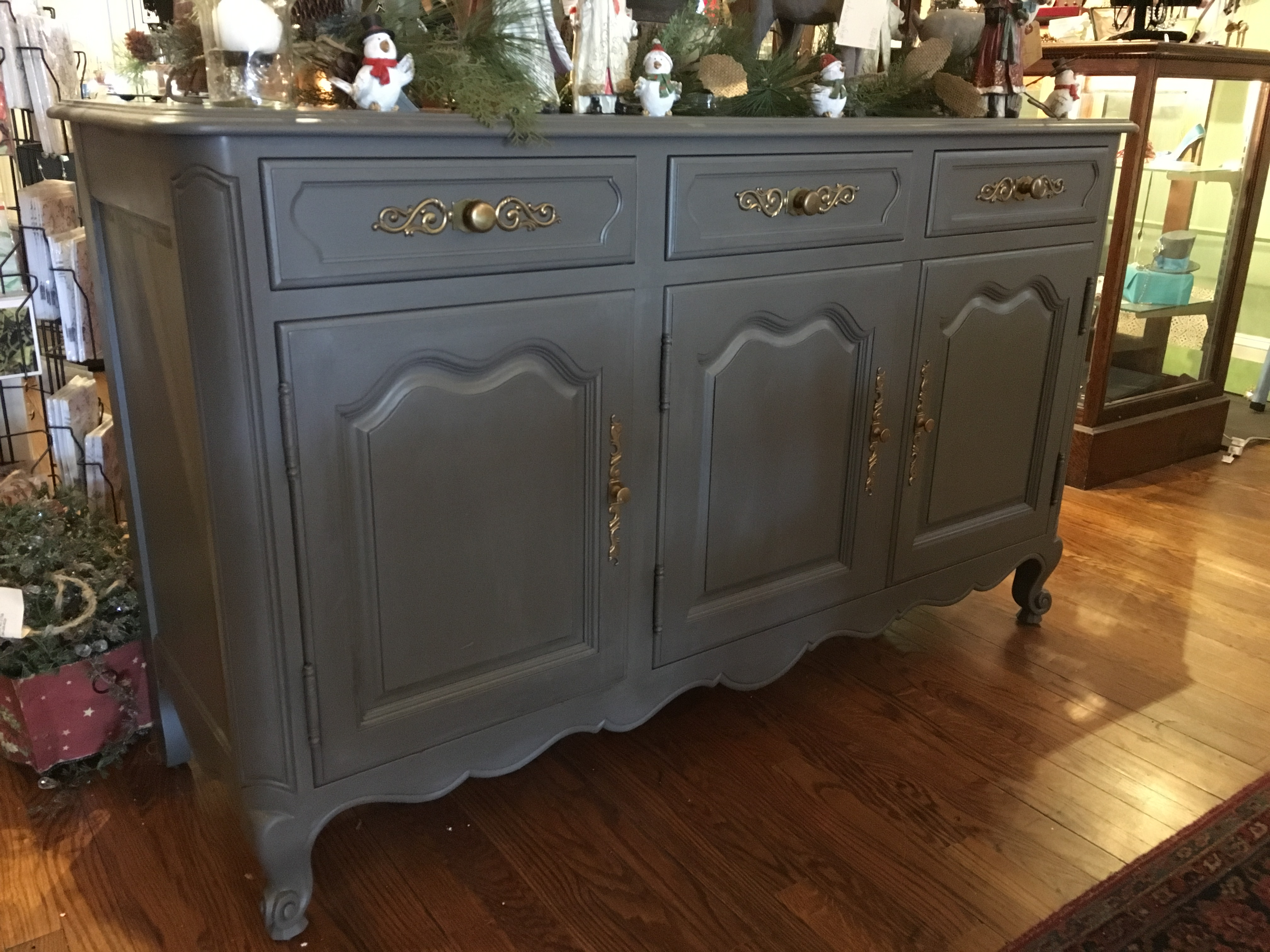 Painted furniture - buffet.