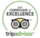 tripadvisor certificate of excellnce 2017