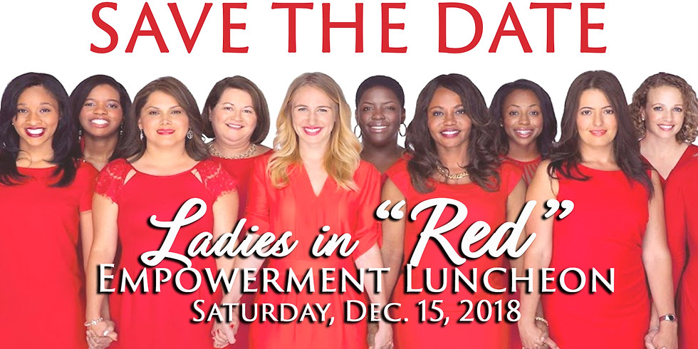 """Ladies in """"Red""""  Empowerment Luncheon 2018 (1)"""