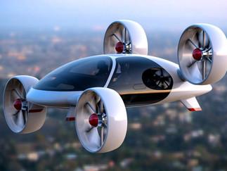 El coche volador de Toyota al fin vuela.