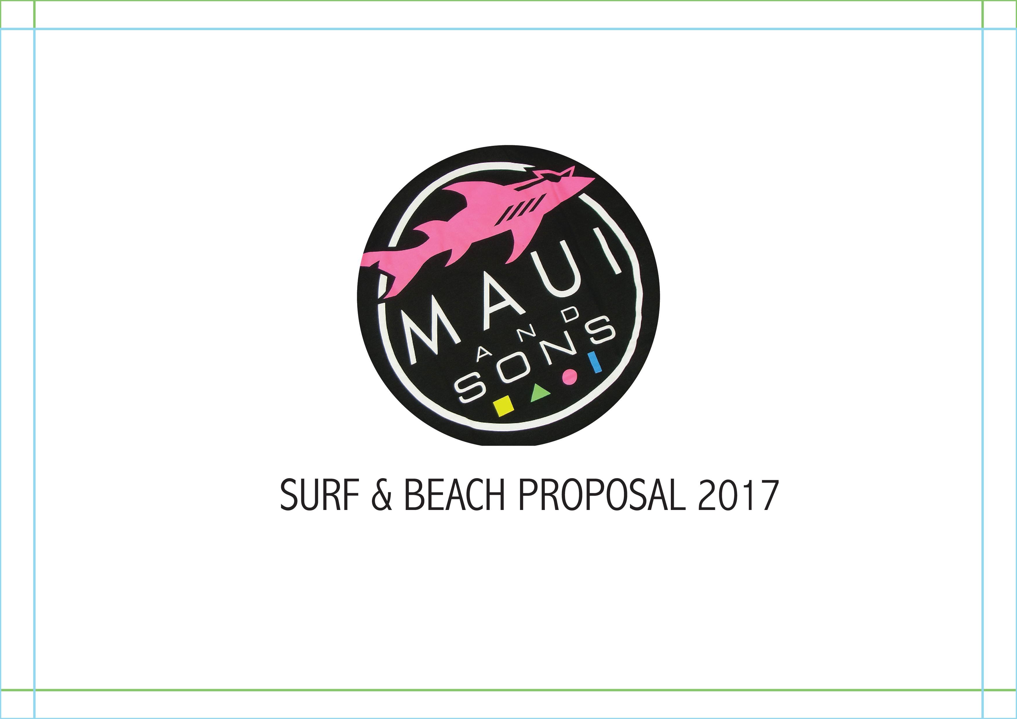 Surf & Beach Proposal 2016