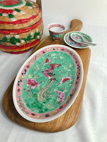 Peranakan Oval plate