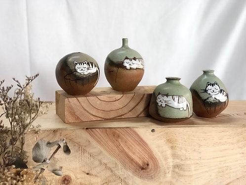 Meow mini vase #3 (4 shapes)