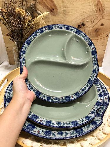 Peony 3 sides platter (3 sizes)