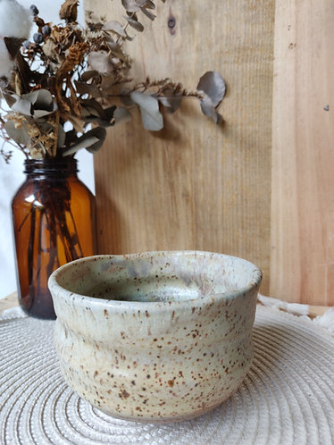 Toasted Bottom Speckled Bowl