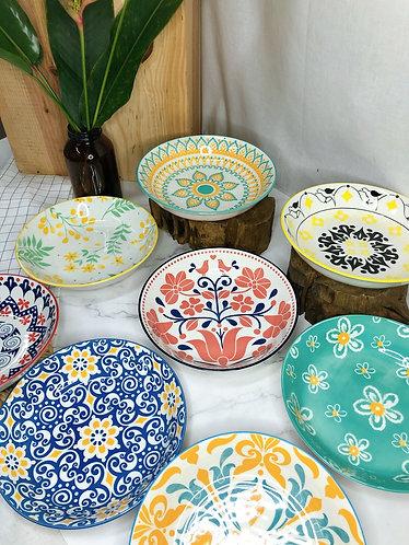 Shallow bowl (9 designs)