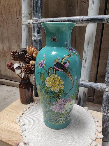 Teal Series Vase #3