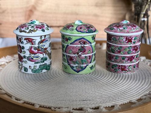Peranakan Mini Tiffin (3 designs)