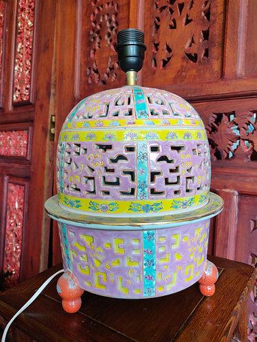 Pastel Oriental lamp
