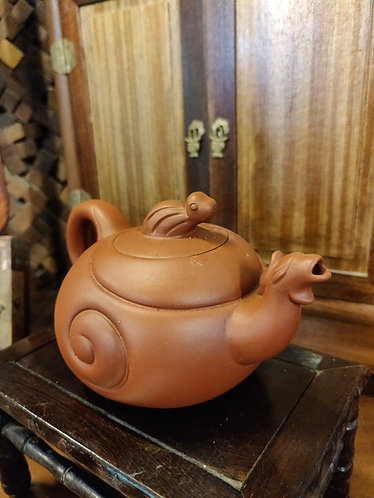 Brown Creature Teapot