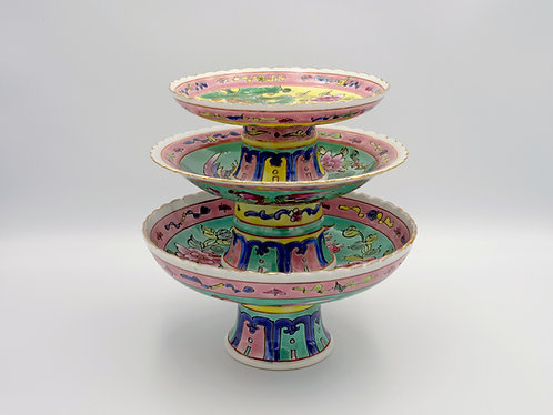 Peranakan fruit plate (3 sizes)