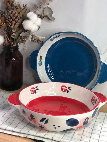 Colour my life | Floral baking dish (2 colours)