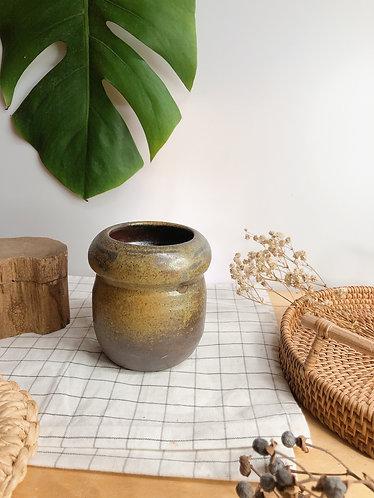 Dragon kiln fired x michellin vase