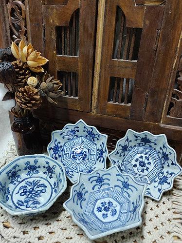 Blue White Small Bowls