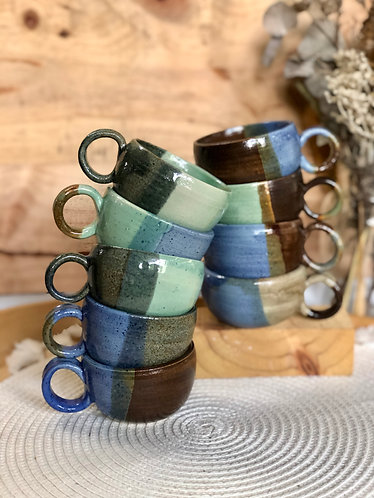 Ring handle cup ( 9 designs)