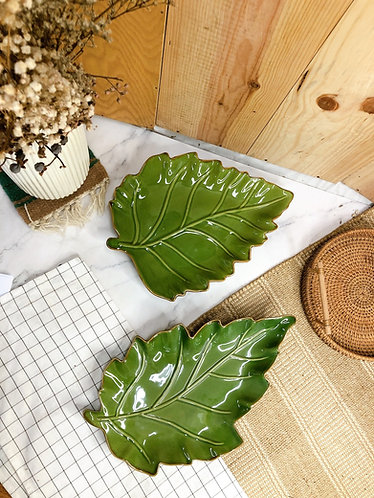 Leaf plate #4 (2 sizes)