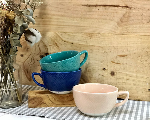 Coloured big cup (3 colours)