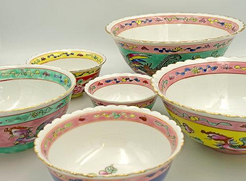 Peranakan bowl (9 sizes)