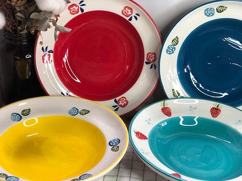 Colour my life | 22.5cm soup bowl (4 colours)