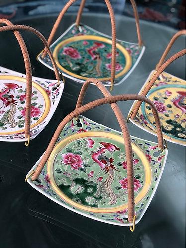 Peranakan plate (5 colours)