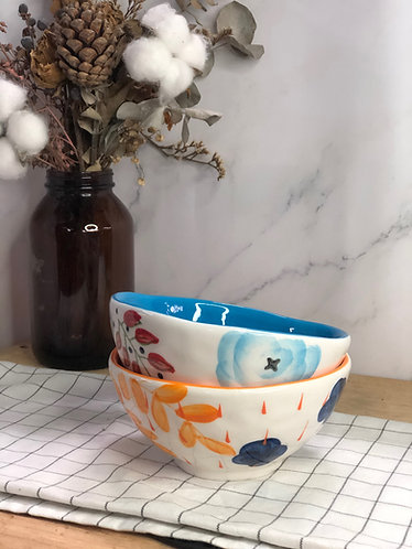 Colour my life | Floral x inner bowl  (2 colours)